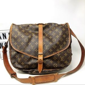 Louis Vuitton saumur 35 Monogram Crossbody Bag
